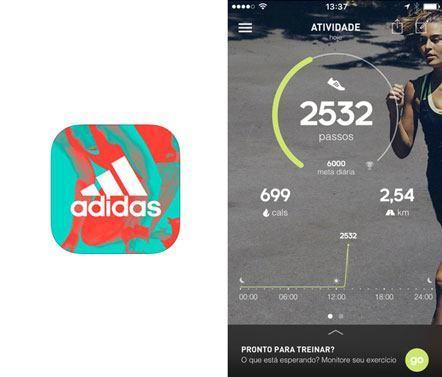 Aplicativo Adidas Corrida Treino