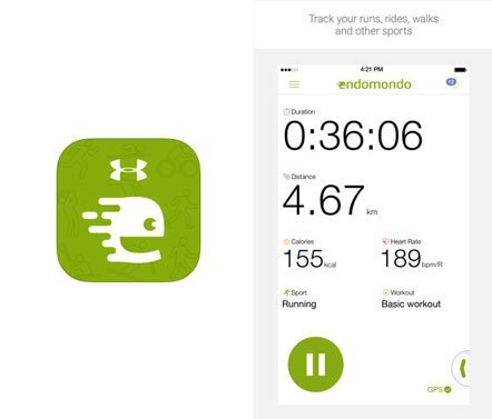 Aplicativo Endomondo Corrida Ciclismo MTB