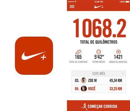Aplicativo Nike+ Running