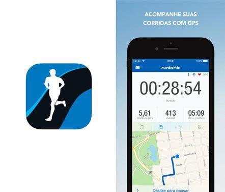 Aplicativo Runtastic Corrida e Caminhada
