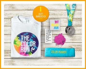 The Color Run Tropicolor Kit