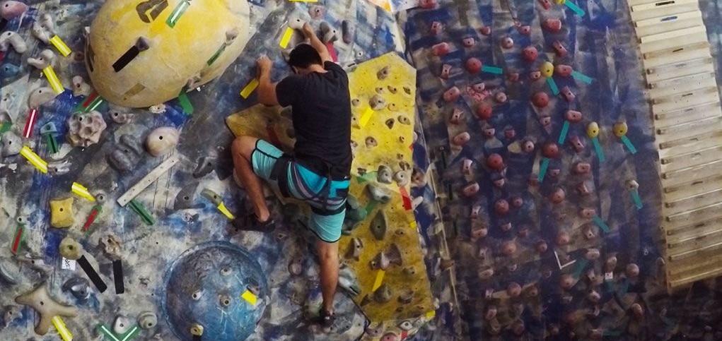 Casa de Pedra Ginásio de Escalada Esportiva Livre