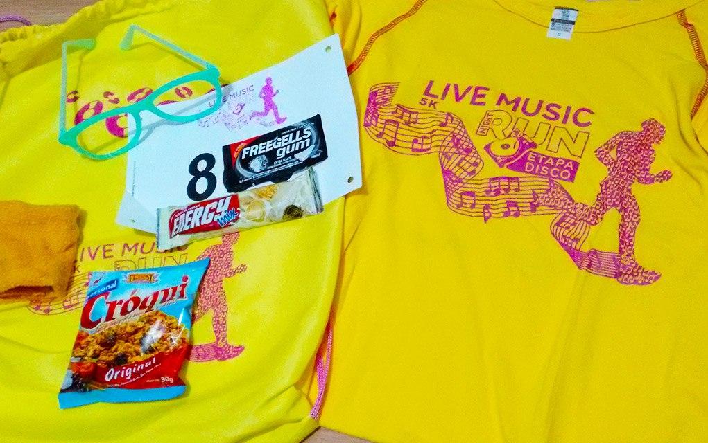 Live Music Run Etapa Disco 2016 Kit