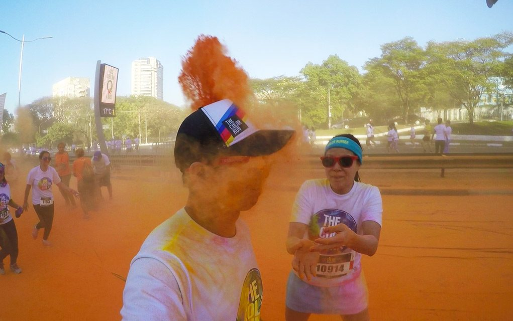 The Color Run Tropicolor 2016 Laranja