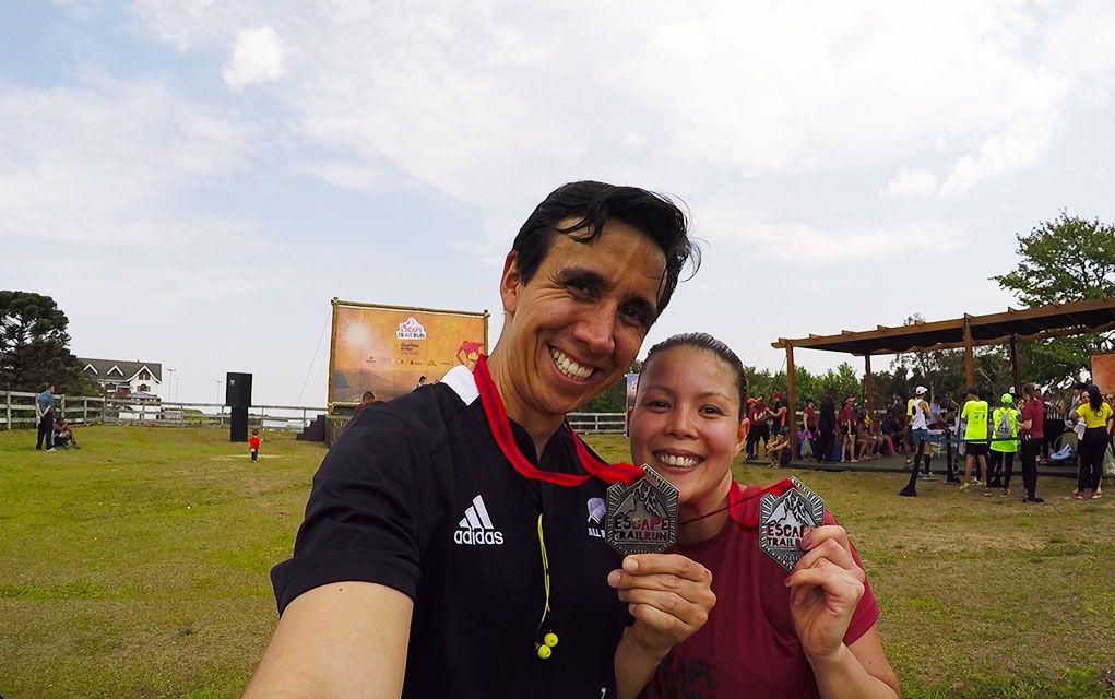 escape trail run 2016 medalha