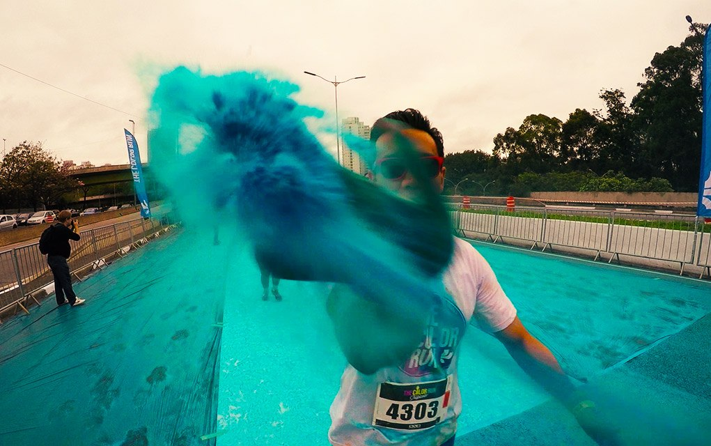 the color run segunda etapa azul