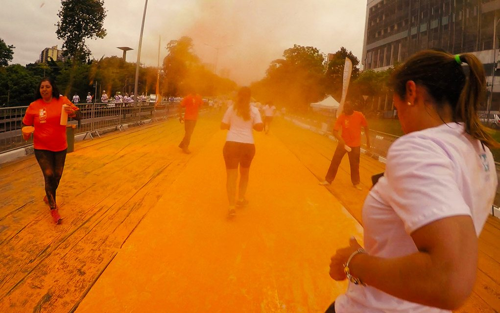 the color run segunda etapa laranja