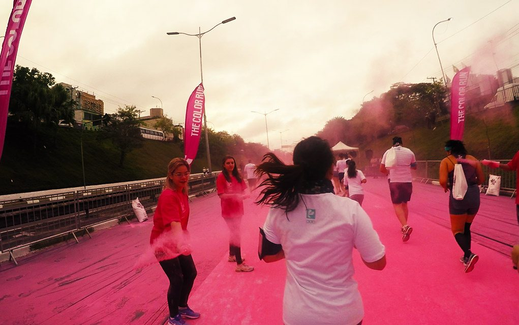 the color run segunda etapa rosa