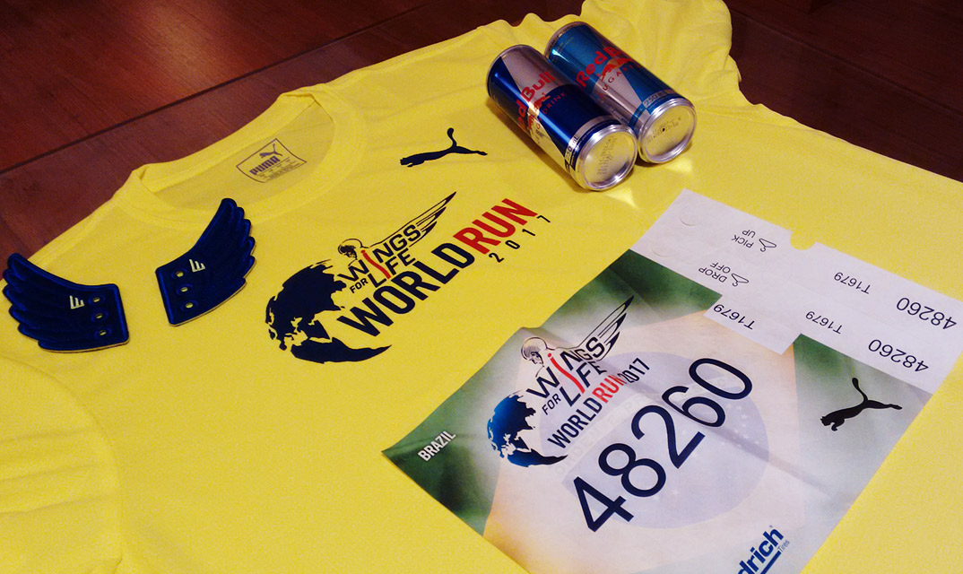 Wings for life world run 2017 kit