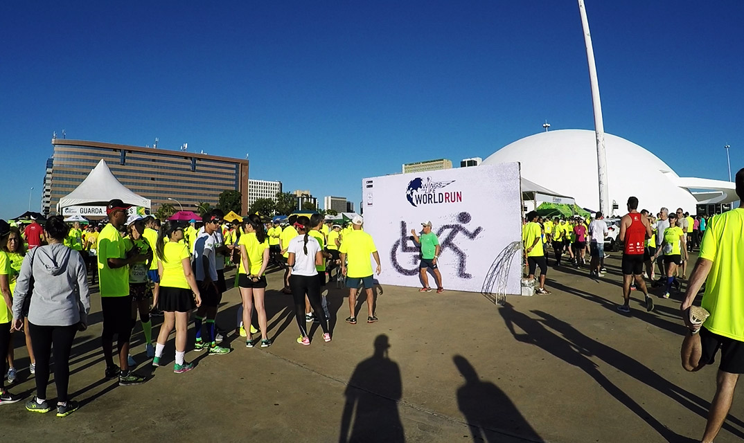 Wings for life world run 2017 stand