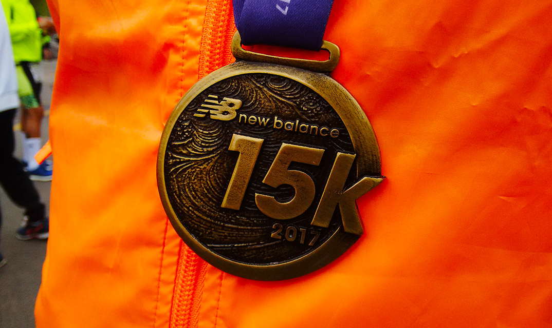 New Balance 15k Series Medalha