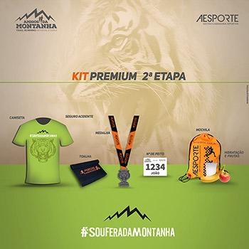 Corrida Amigos da Montanha Trail Running Etapa Tigre 2017 Kit