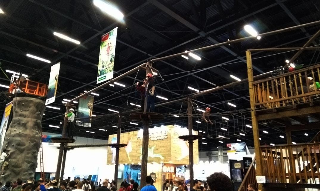 adventure sports fair 2017 arvorismo 2
