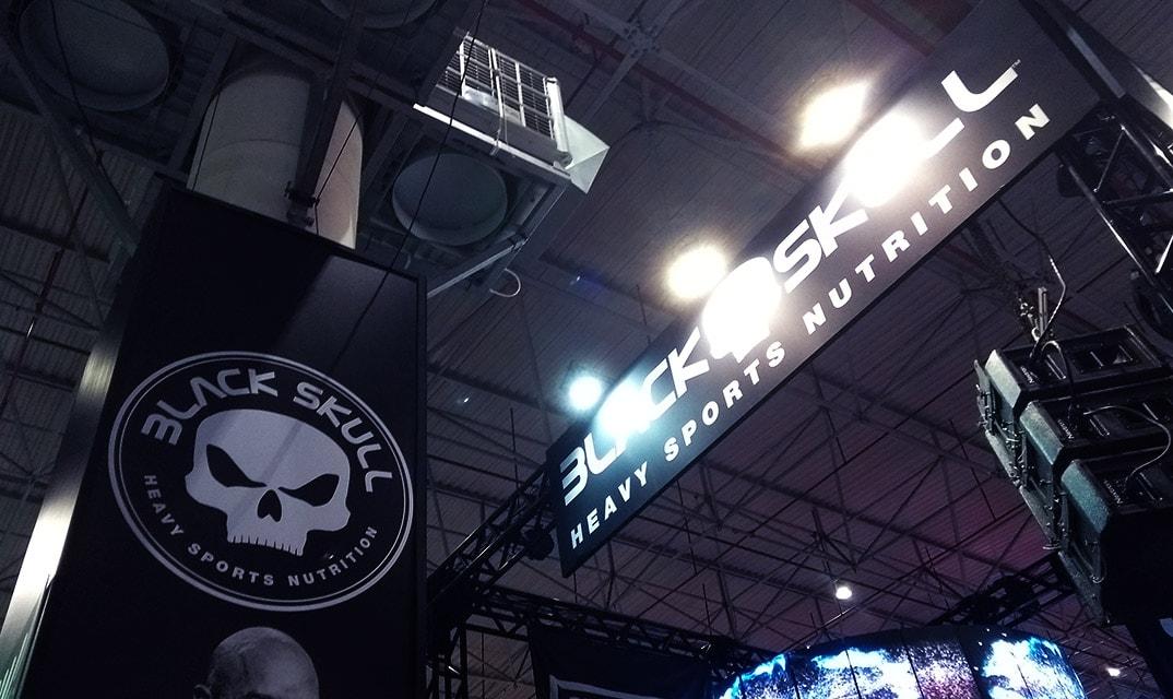 brasil trading fitness fair black skull