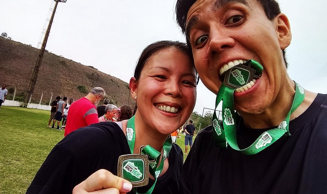igaratá running roça 16km percurso 2017 medalha