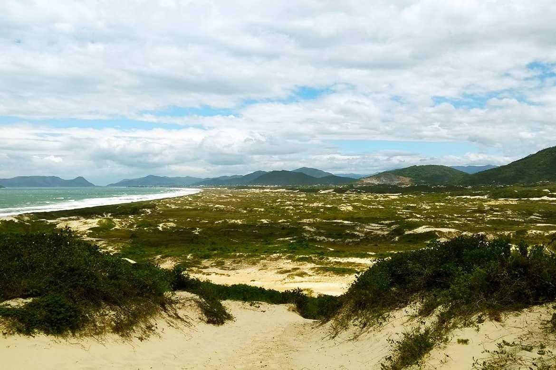 Florianópolis Praia Joaquina Dunas