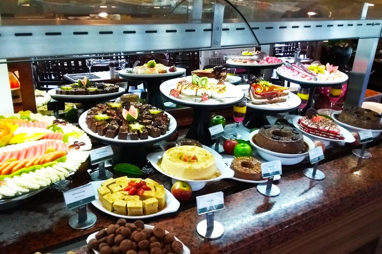 Costa do Sauípe - Bahia - restaurante