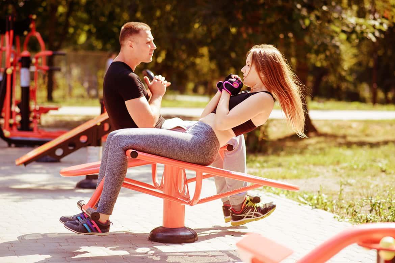 Treinar de graça equipamentos de ginástica