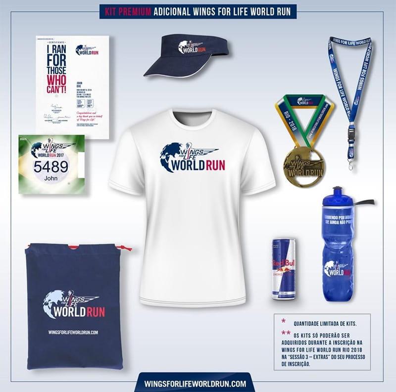 wings for life world run 2018 kit premium