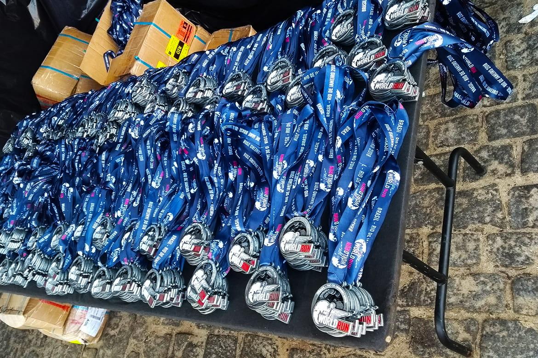 wings for life world run 2018 medalhas